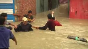 India rocked by worst flooding in 22 years