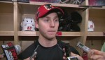 WATCH: Raw  interview: Sam Bennett talks about his old friend Connor McDavid.