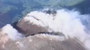 Mexican volcano starts to erupt