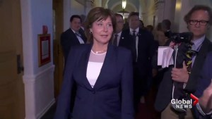Why is Christy Clark resigning now?