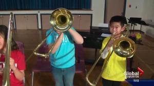 Inner-city kids get instruments through orchestra program
