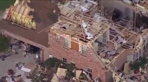 Baby rescued during deadly tornadoes in the U.S.