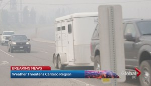 Lightning threatens more Cariboo region wildfires
