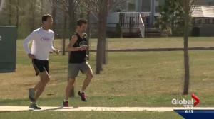 Two of the top marathon men in western Canada call Edmonton home