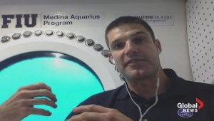 Canadian astronaut Jeremy Hansen discusses his underwater mission.