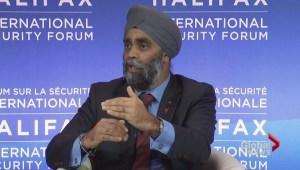 Tom Clark at the Halifax International Security Forum