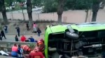 8 dead, 36 injured in Peru bus crash