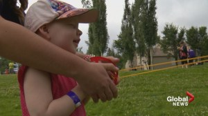 Young Alberta cancer patient attends special summer camp as doctors plan next move
