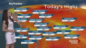 BC Evening Weather Forecast: Jul 17