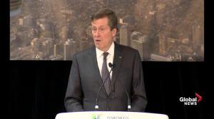 John Tory proposes adding tolls to Gardiner Expressway, DVP