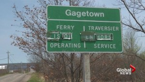 Fight for Gagetown Ferry remains afloat for village residents