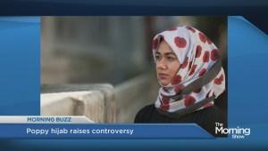 Poppy themed hijab sparks debate in U.K.