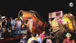 Passenger trains in Thailand collide, more than 20 injured