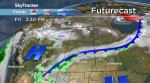 Saskatoon weather outlook: rain Friday, snow ahead