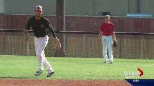 Edmonton baseball team finding success south of the border