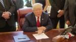 President Trump's tough trade talk concerning: DeCourcey