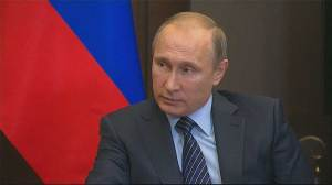 "Putin: downing of Russian jet ""stab in back"""