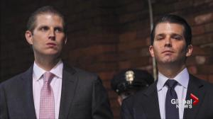 Trump's kids opt for secret service protection