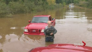 N.B. hit by floods after torrential rain