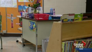 No money for desks in school budget
