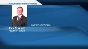 Ponoka Mayor remembers avalanche victim