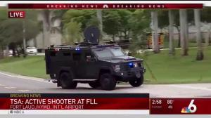 SWAT vehicles rush to active incident at Fort Lauderdale airport garage