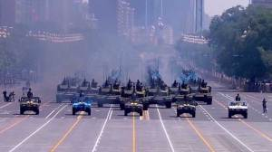 Cut to troops announced as China parades military might in WWII commemoration