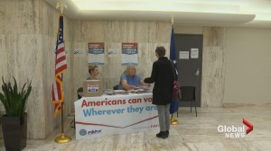 Americans in Calgary sign up for absentee ballots