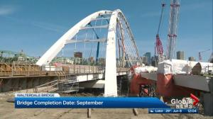 New Walterdale Bridge will open in September after long delay