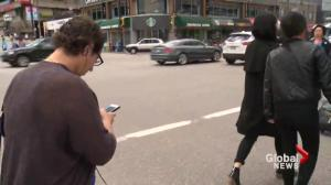 Support growing for distracted walking laws