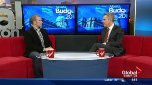 Political analyst Robert Murray on Alberta Budget 2016