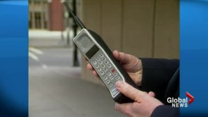 30th anniversary of cellphones in Canada