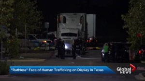 Police in Texas find 8 people dead inside truck, another 20 in critical condition