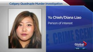Police say person of interest in Calgary burnt-car case had relationship with 1 of 4 victims