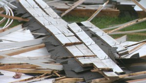 Curling rink in Saskatchewan community destroyed in storm