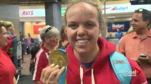 Gold Medal Arrives