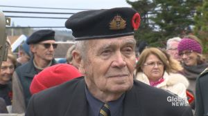 'Sometimes you're going to have to be courageous.' One WWII veteran's reflection
