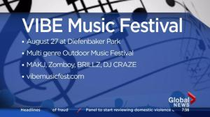 First VIBE Music Festival in Saskatoon