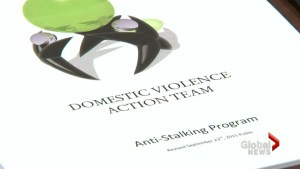 'We want to collect what's necessary for a prosecution': DVAT creates anti-stalking program