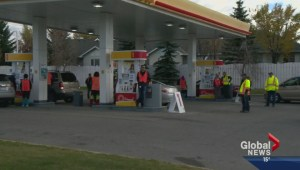 Shell charges 1984 pricing for gas
