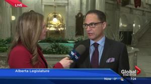 Finance Minister Joe Ceci sells Alberta Budget 2016