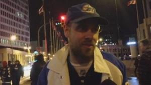 Winnipeg Jets fan sings original tune for team