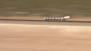 Hyperloop Technologies shows off possible future way to travel at high speeds