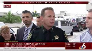 Police confirm shooting at Ft. Lauderdale airport; 5 dead