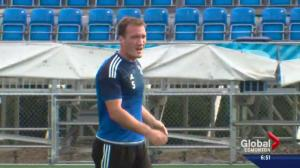 FC Edmonton defender to mark 100th match with club