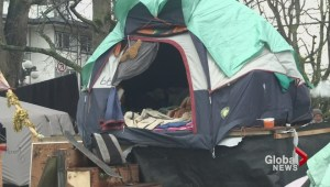 B.C. gov't offers temporary housing to tent city dwellers
