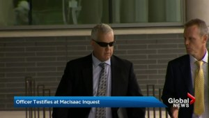 Officer who shot and killed Michael MacIsaac testifies