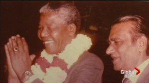 South African-Canadians who met Mandela remember him.