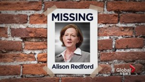 Where is former Alberta Premier Alison Redford?