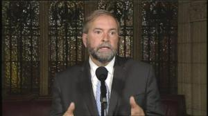 "Mulcair says NDP will not stand by PQ's ""Charter of Quebec Values"" if it infringes on Canadian Charter"